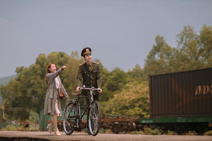 Những hình ảnh gợi nhớ đến các phân đoạn lãng mạn của hai nhân vật chính.