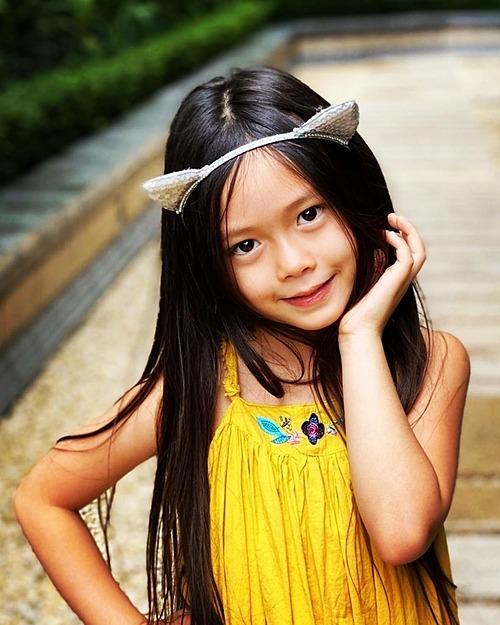 Vẻ đáng yêu của bé Sol - con gái ca sĩ Đoan Trang.