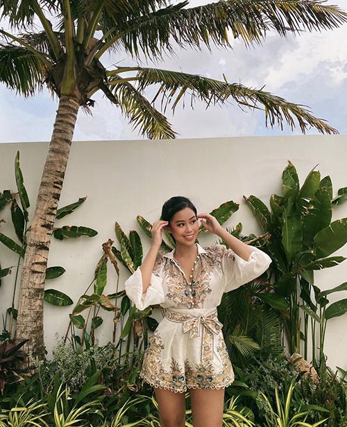 Tiên Nguyễn mê trang phụchoạ tiết - 6