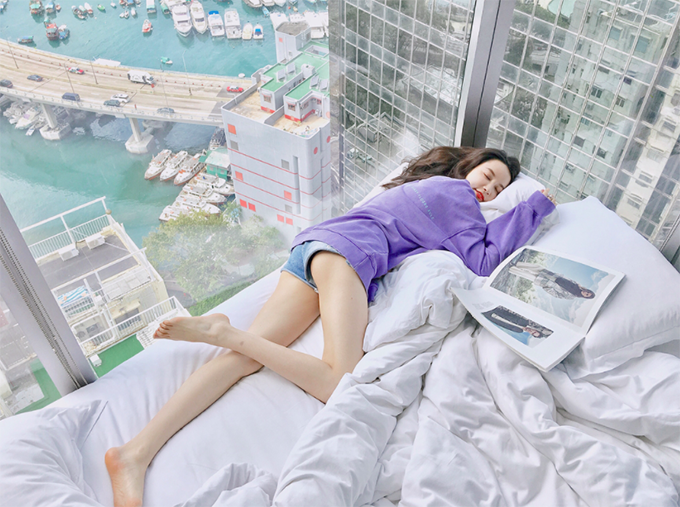 [Caption] victoria hk sở thích ksan ốp kính