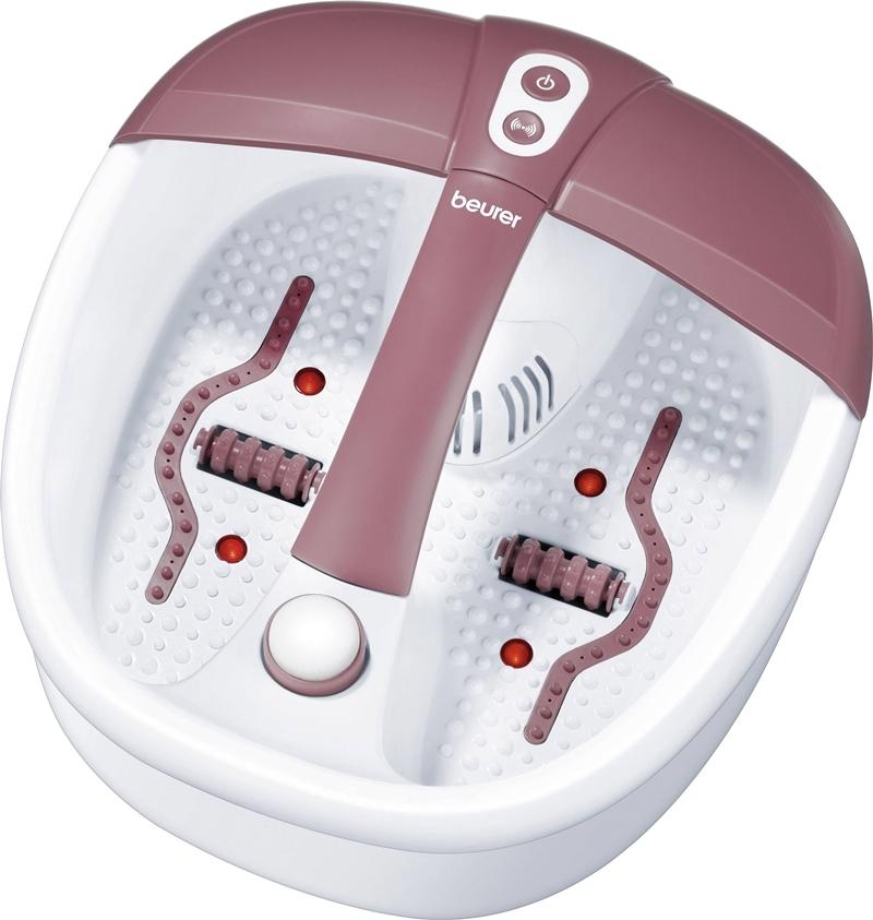 Bồn massage chân hồng ngoạiFB35 với 3 chế độ gồm massage rung, thủy lực, giữ ấm nước. Thiết bị có khoang chứa dược liệu ngâm chân, trang bị 4 điểm đèn hồng ngoại và 16 nam châm tích hợp cho ứng dụng massage từ trường. Máy góp phần hỗ trợ trừ phong thấp, giúp cơ thể bài tiết chất độc; thúc đẩy vòng tuần hoàn máu, lưu thông khí huyết; đẩy mạnh quá trình tái tạo tế bào tạo cảm giác hưng phấn; thư giãn các cơ bắp bị mỏi, hỗ trợ giấc ngủ sâu. Sản phẩmđang giảm 5%, còn 1,89 triệu(giá gốc 1,99 triệuđồng).