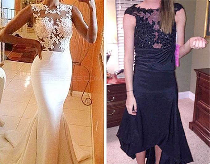 Mua đầm dạ hội online và cái kết