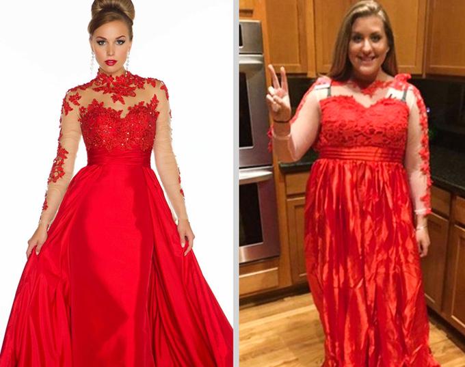 Mua đầm dạ hội online và cái kết - 8