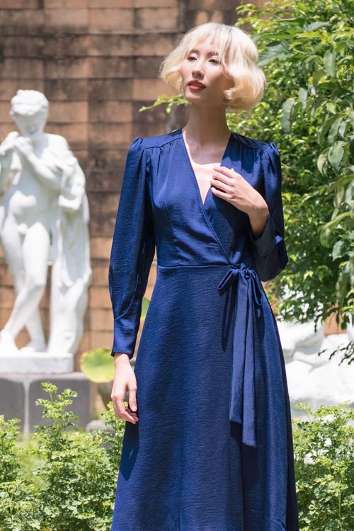 Nguyễn Hà Nhật Huy mang tới bộ sưu tập thời trang ứng dụng nhằm đáp ứng nhu cầu lựa chọn trang phục văn phòng sau thời gian ở nhà tránh dịch.