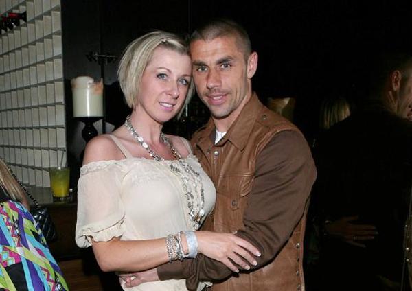 Kevin Phillips và cô vợ Julie. Ảnh: Daily Star.
