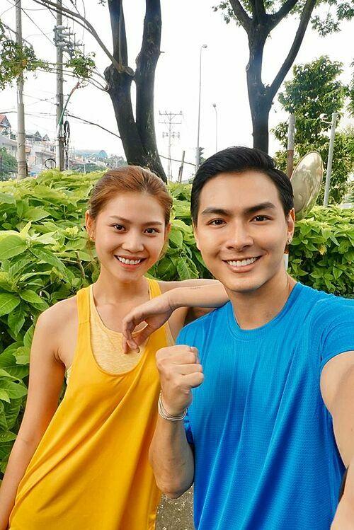Vợ chồng Chúng Huyền Thanh -Jay Quân.