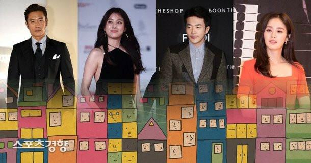 4 ngôi sao tên tuổi xứ Hàn nằm trong danh sách những nghệ sĩ bị điều tra vì hành vi thiếu minh bạch trong đóng thuế mua bán bất động sản.