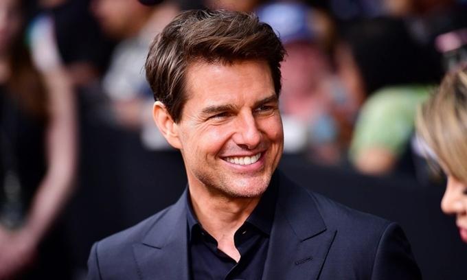 Tài tử Tom Cruise.