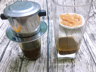 Cà phê sữa dừa rim - 3
