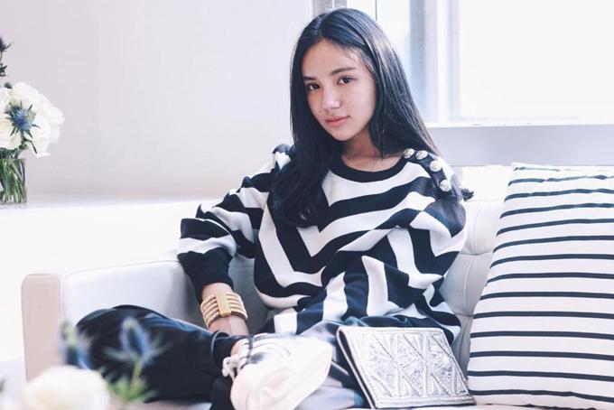Covid-19 khiến con gái tỷ phú Peter Lim sống giản dị hơn. Ảnh: Instagram.