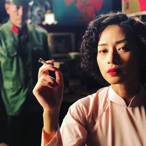 Ngô Thanh Vân trong một cảnh phim.
