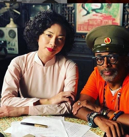 Ngô Thanh Vân bên đạo diễn Spike Lee.