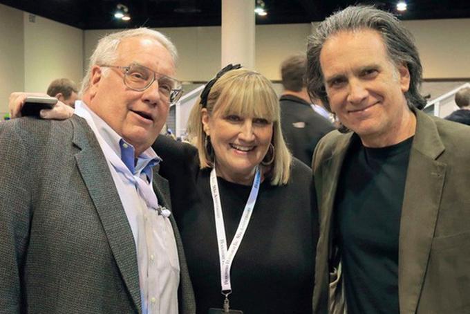 Ba người con của tỷ phúWarren Buffett (Từ trái sang): Howard Granham, Susan Alice và Peter. Ảnh: Times.