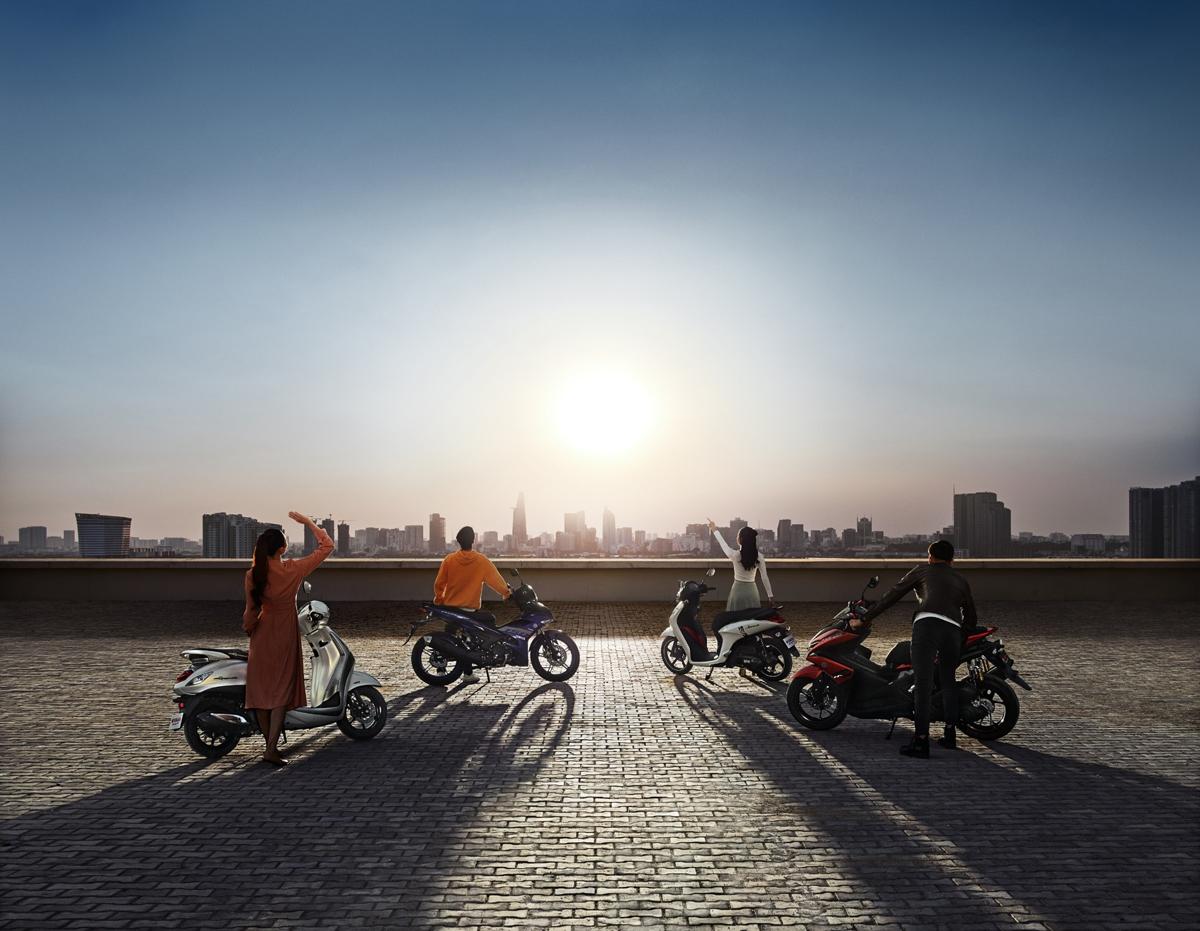 Với bề dày hơn 20 năm phát triển tại thị trường Việt Nam, Yamaha Motor mong muốn đồng hành và mang tới nguồn cảm hứng mới, những giá trị mới cho người dùng.