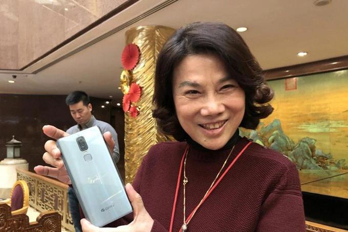 Bà Dong Mingzhu, Chủ tịch của Gree Electric Electrical. Ảnh: SCMP.