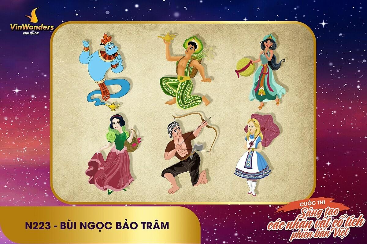 Phương Thảo - longnd26 - top 1 streaming 4 -Chất Việt nào sẽ lên ngôi tại Sáng tạo nhân vật cổ tích phiên bản VinWonders? (lên luôn k xin edit) - 8
