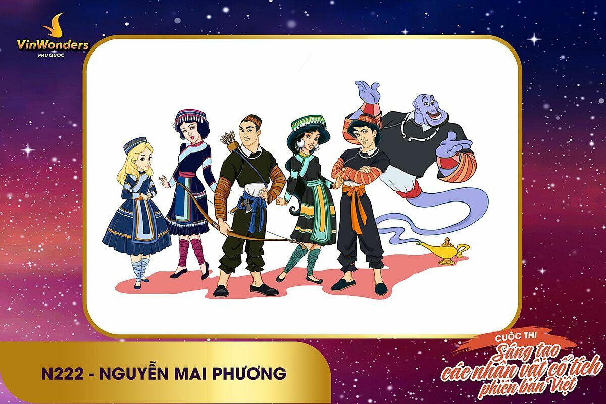 Phương Thảo - longnd26 - top 1 streaming 4 -Chất Việt nào sẽ lên ngôi tại Sáng tạo nhân vật cổ tích phiên bản VinWonders? (lên luôn k xin edit) - 10