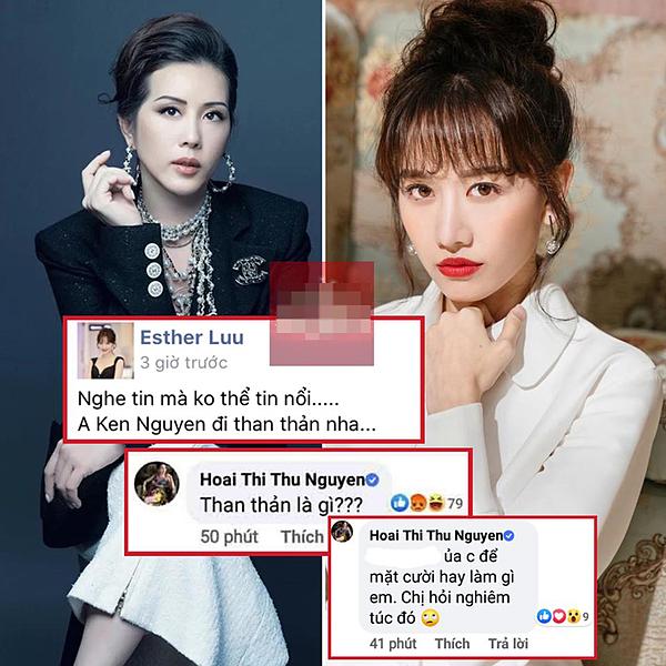 Hoa hậu Thu Hoài bắt lỗi chính tả trong status chia buồn của Hari Won.