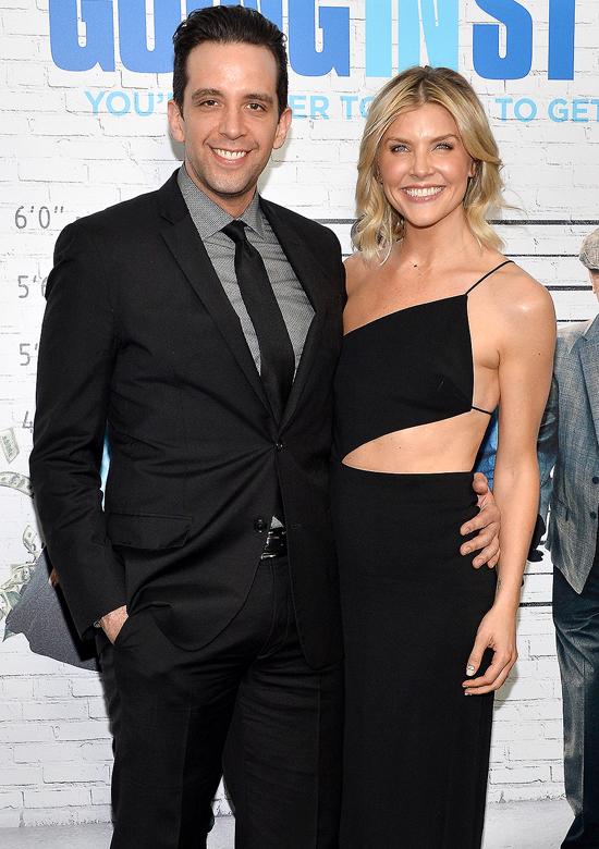 Nick Cordero và vợ trên thảm đỏ lễ ra mắt phim năm 2017. Ảnh: Film.