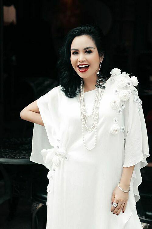 Nhan sắc của Thanh Lam ở tuổi ngoài 50.
