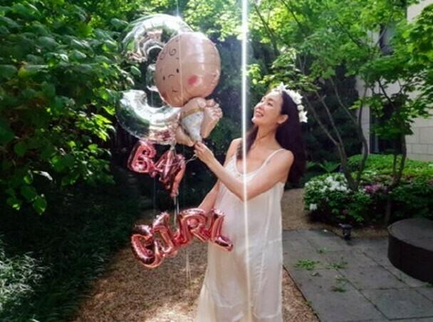 Choi Ji Woo trước ngày sinh.