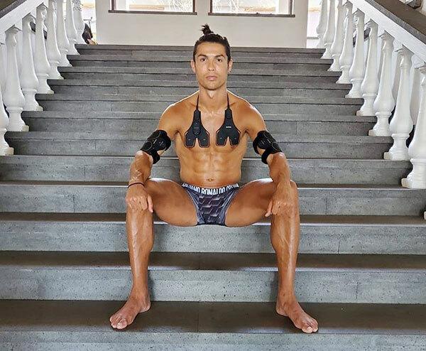 Bức ảnh mới nhất khiến fan bàn tán của C. Ronaldo. Ảnh: Instagram.