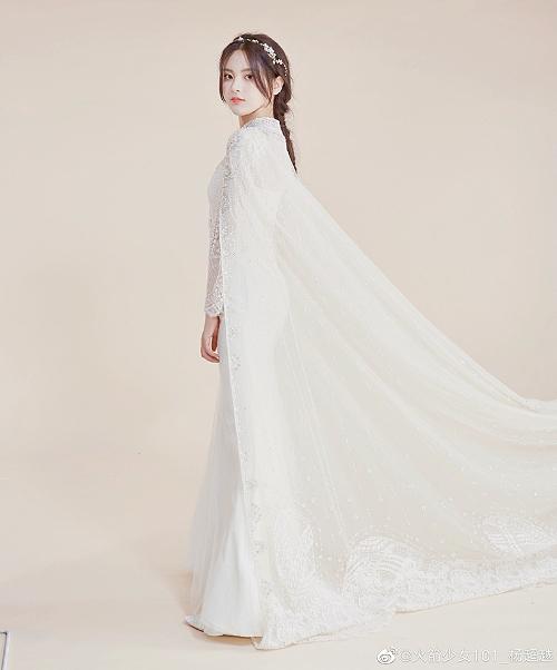 Sao đẹp nhất Trung Quốc mặc váy cưới - 2