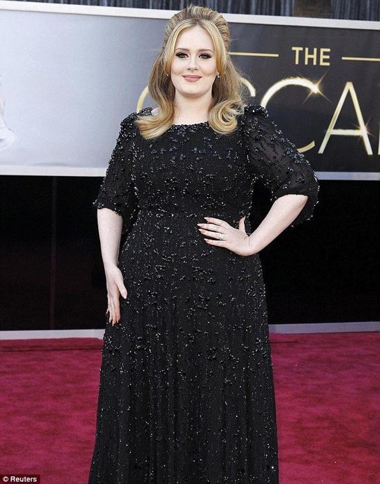 Adele từng không để tâm đến chuyện béo gầy nhưng đã quyết tâm giảm cân để bảo vệ sức khỏe.
