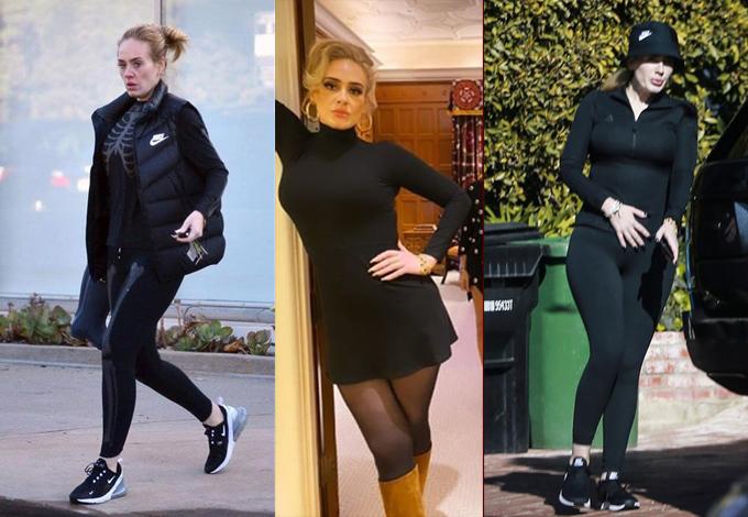 Nhiều khán giả không nhận ra Adele sau khi cô giảm cân thành công.