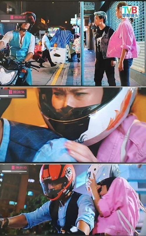 Cũng ở phim Lời sám hối muộn màng, nam diễn viên Trần Sơn Thông mặc tới hai chiếc sơ mi và vest trong cùng một cảnh hẹn hò.
