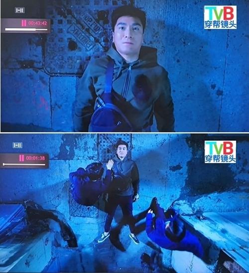 Phim kỳ ảo - hành động Pháp sư bất đắc dĩ 2đang là tác phẩm được yêu thích trên sóng TVB. Dù vậy, phim này cũng bị phát hiện không ít lỗi logic. Trong một cảnh nam chính Mã Quốc Minh bị bắn, vết máu trên ngực anh lúc có lúc không.