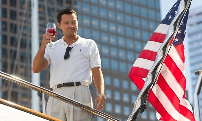 Leonardo DiCaprio tái hiện chân dung ông trùm tài chính phố Wall.