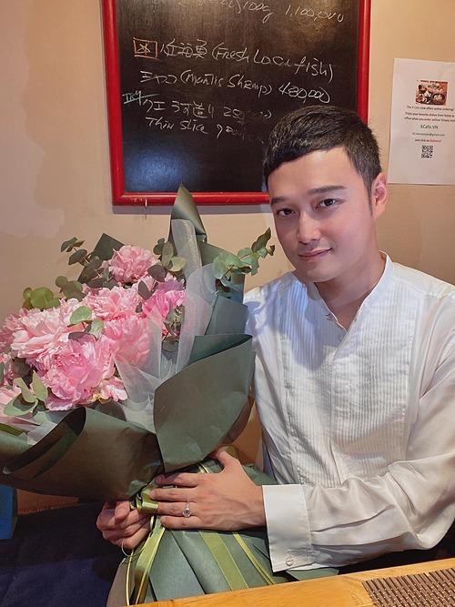 Hoàng tử sơn ca Quang Vinh gửi lời cảm ơn tới mọi người vì đã chúc mừng sinh nhật anh.
