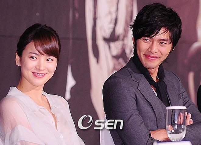 Song Hye Kyo, Hyun Bin thủa mặn nồng.