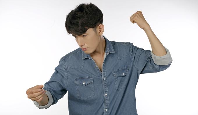 Tham gia vào dự án Ngày không khói thuốc, Quang Đăng đảm nhận song song vai trò biên đạo và thể hiện bài hát.