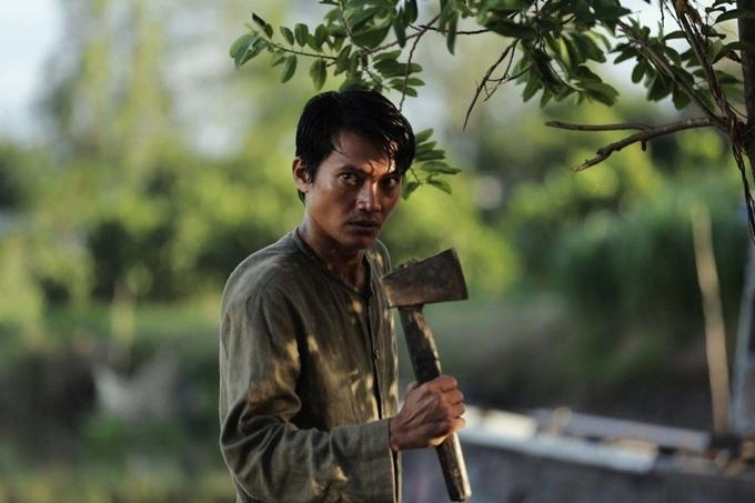 Quang Tuấn trong phim Thiên linh cái.