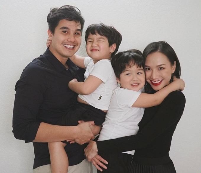 Gia đình nhỏ của Baggio - Quỳnh Trâm.
