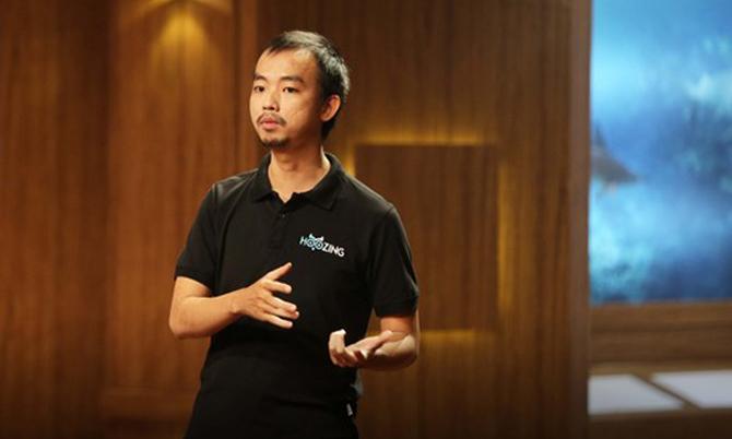 Lê Huỳnh Nhựt Hải, nhà đồng sáng lập kiêm CEO củaHoozing trên Shark Tank Việt Nam mùa 1.