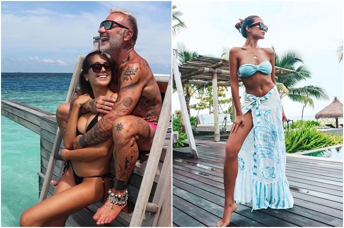 Trong chuyến nghỉ dưỡng ở đảo thiên đường Maldives, triệu phú người Italy chọn ởWaldorf Astoria Maldives Ithaafushi - một trong những resort được nhiều người nổi tiếng yêu thíchnhất ở đây. Sau khi nhập cảnh tại sân bay Male,du khách phải đi du thuyền tư nhân ra một hòn đảo riêng biệt để tới resort. Bãi biển xung quanh có màu cát trắng đến chói mắt, nước trong veo và hoàng hôn thì đẹp như tranh vẽ. Một căn biệt thự có giá khoảng 1.360-2.200 USD/đêm(khoảng 31-50,6 triệu đồng) tùy mùa.