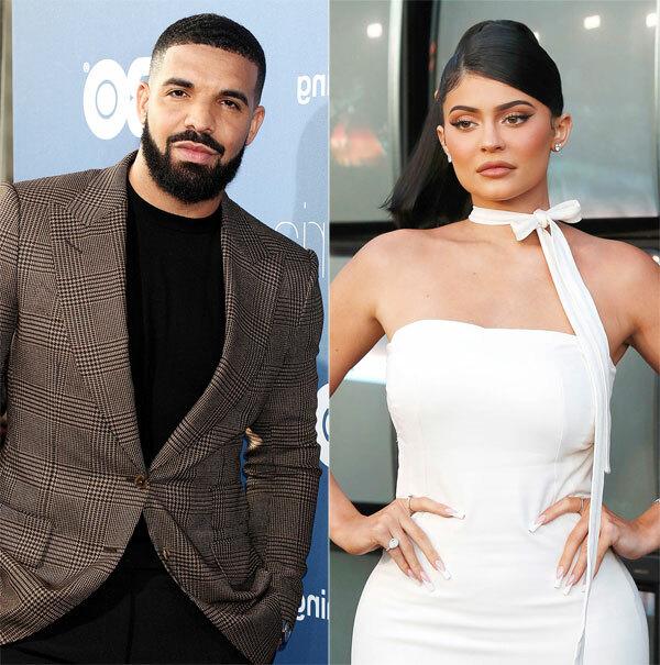 Drake và Kylie Jenner. Ảnh: Shutterstock.