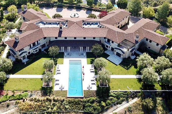 Biệt thự 18,5 triệu USD ở Beverly Hills nơi nhà Sussex cùng con trai nhỏ đang sinh sống. Ảnh: GoffPhotos.
