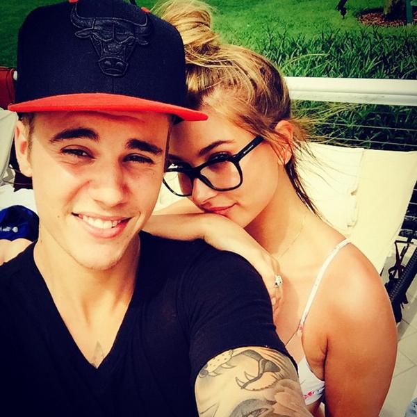 Hailey và Justin năm 2015.