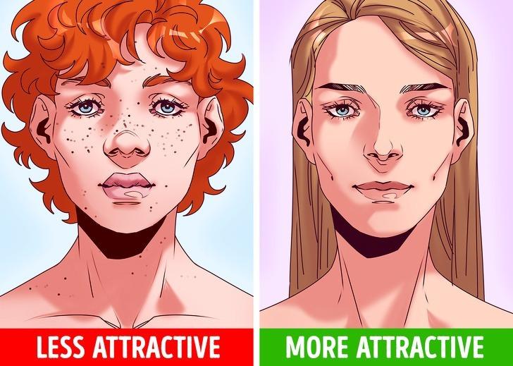 Tương tự với gương mặt đối xứng, ngoại hình ưa nhìn cũng là điều thu hút đối phương. Điều này được lý giải bằng nhiều cách khác nhau bao gồm cả ảnh hưởng từ gen và bộ não thường có tín hiệu tốt đối với những gương mặt hài hòa, ưa nhìn.