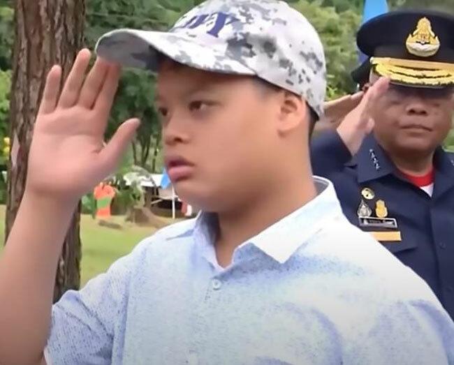 Hoàng tử Thái Lan Dipangkporn Rasmijoti (15 tuổi). Ảnh: Newsflash.