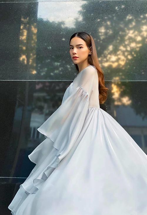 Sao Việt lăng xê mốt đầm bầu - 2