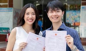 Á hậu Thúy Vân đăng ký kết hôn