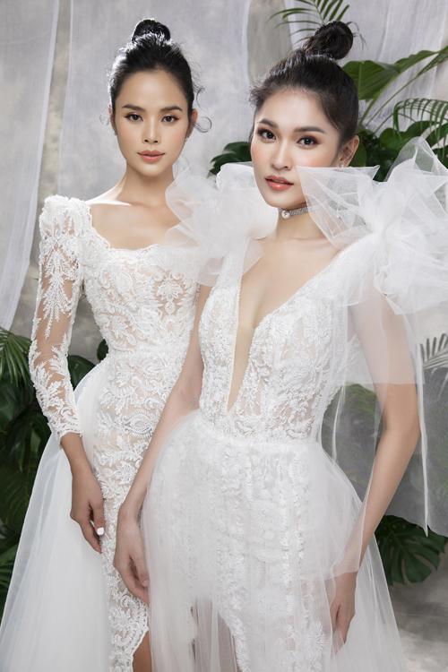 Bộ ảnh được thực hiện bởi trang phục, trang điểm: Thụy Bridal, nhiếp ảnh: Lê Thiện Viễn, người mẫu: Trần Hiền - Thùy Dung.