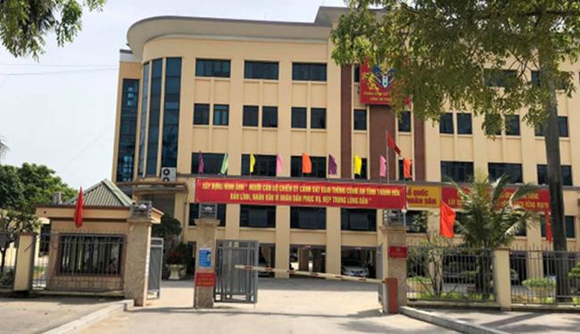 Trụ sở Phòng CSGT Thanh Hoá.