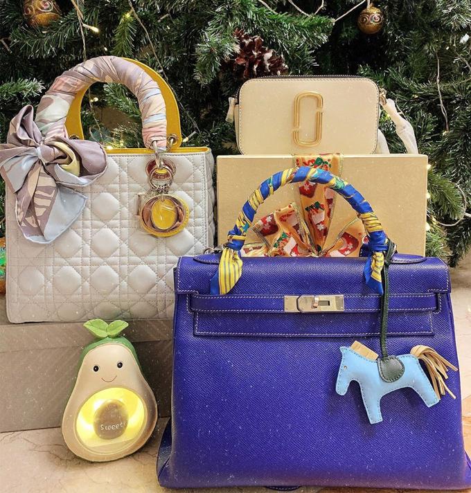 Loạt túi xa xỉ của con gái Minh Nhựa - 8