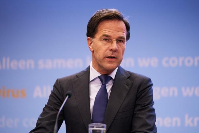 Thủ tướng Hà Lan Mark Rutte. Ảnh: AP.